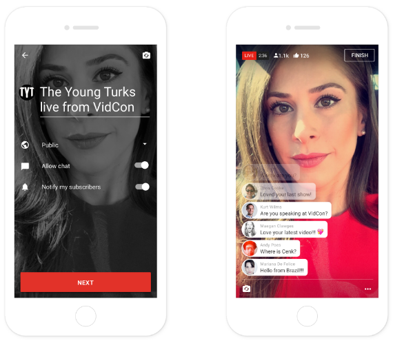 YouTube Rolls Out Mobile Live-Streaming to More Users | Social Media Today
