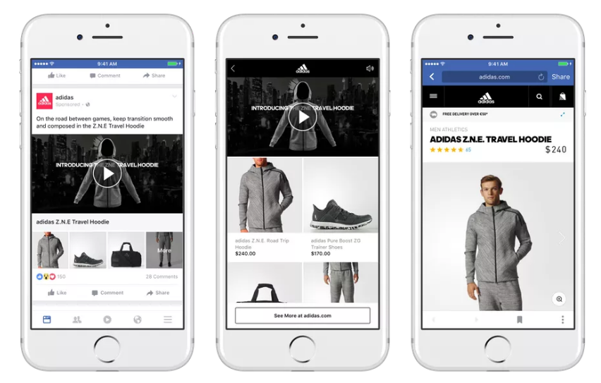 Facebook's Launching a New, Immersive Ad Format Called 'Collections' | Social Media Today