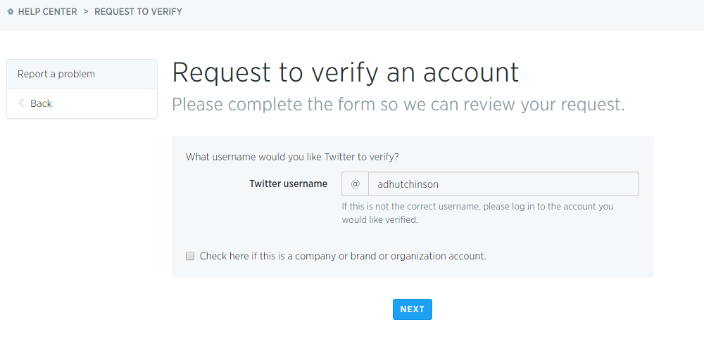 Now Anyone Can Apply for a Verified Account on Twitter - Here's How | Social Media Today