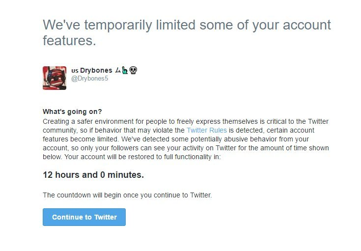 Twitter's Implementing Temporary Restrictions on Abusive Accounts | Social Media Today