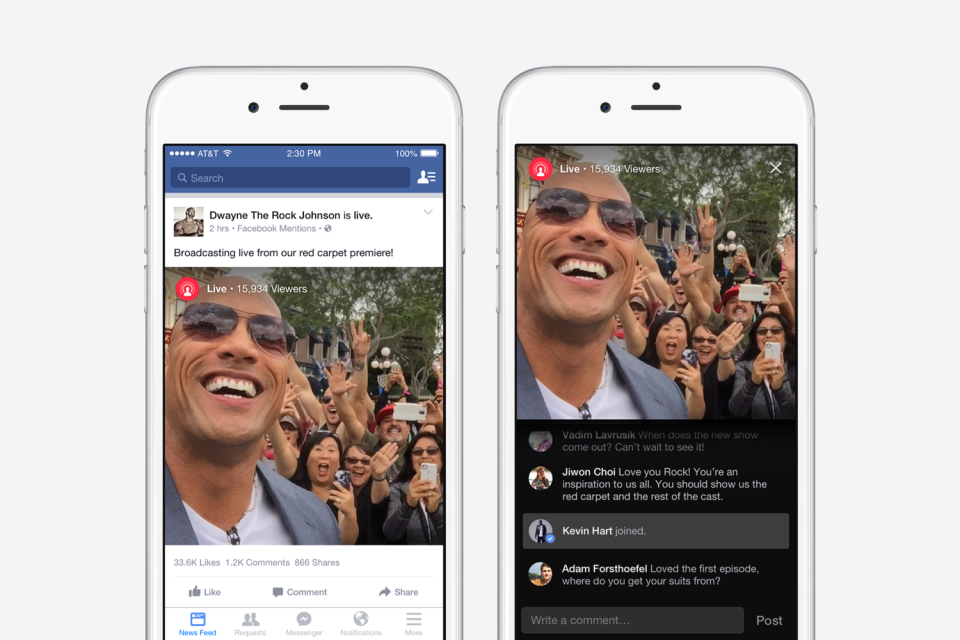 Is Facebook Looking to Pay Celebrities to Boost its Live-Stream Offering? | Social Media Today