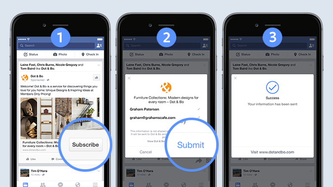 Facebook Updates Lead Ads, Improves Functionality and Options | Social Media Today