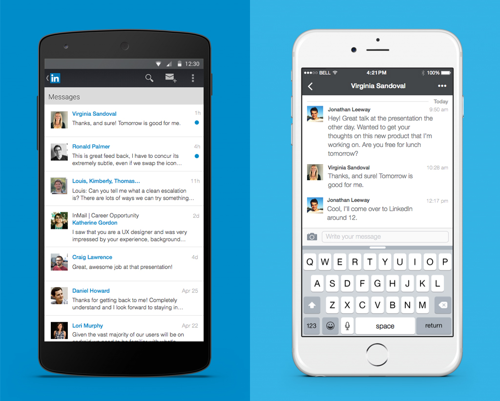 LinkedIn Improves On-Platform Messaging Functionality | Social Media Today