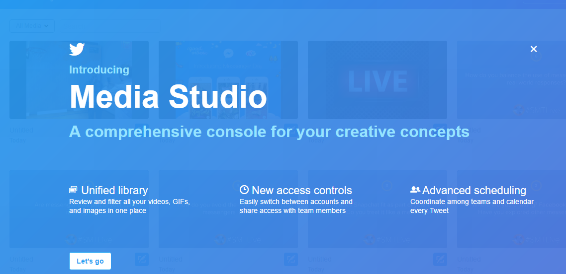 Twitter Updates Media Studio, Expands Access to Tool | Social Media Today