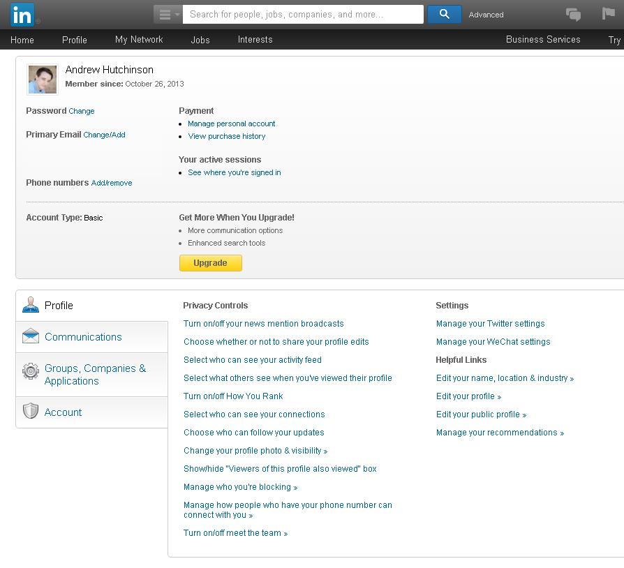 LinkedIn Unveils Re-Vamped Privacy and Settings Options | Social Media Today
