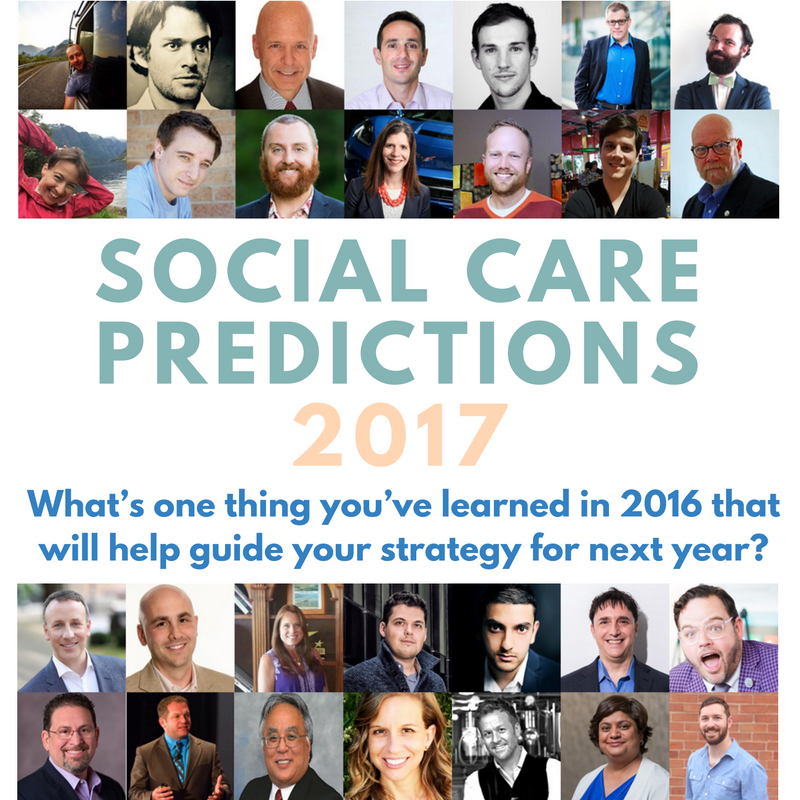 28 Experts Share Social Care Predictions for 2017: Part 2 | Social Media Today
