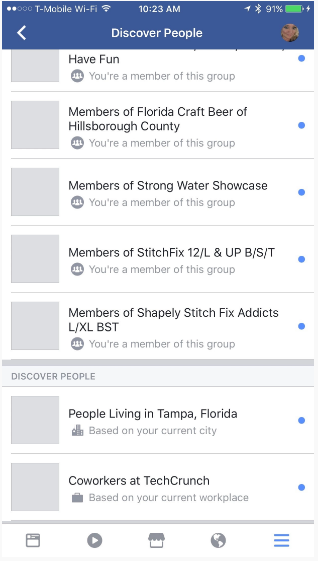 Facebook's Testing Out a New Tool to Help You Connect with Like-Minded Users | Social Media Today
