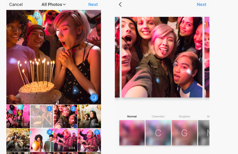7 Ways Your Brand Can Leverage Multiple Image Posts on Instagram | Social Media Today