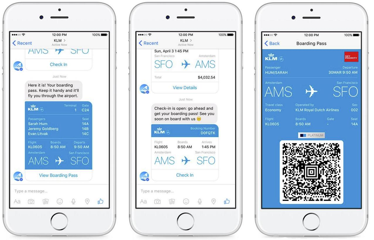 KLM Announces Facebook Messenger Integration - The Next Step for Messenger Commerce | Social Media Today