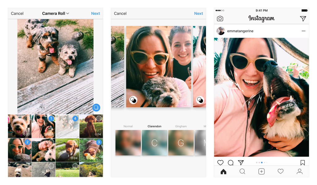 Instagram Adds Variable Format Support to Multi-Image Posts | Social Media Today