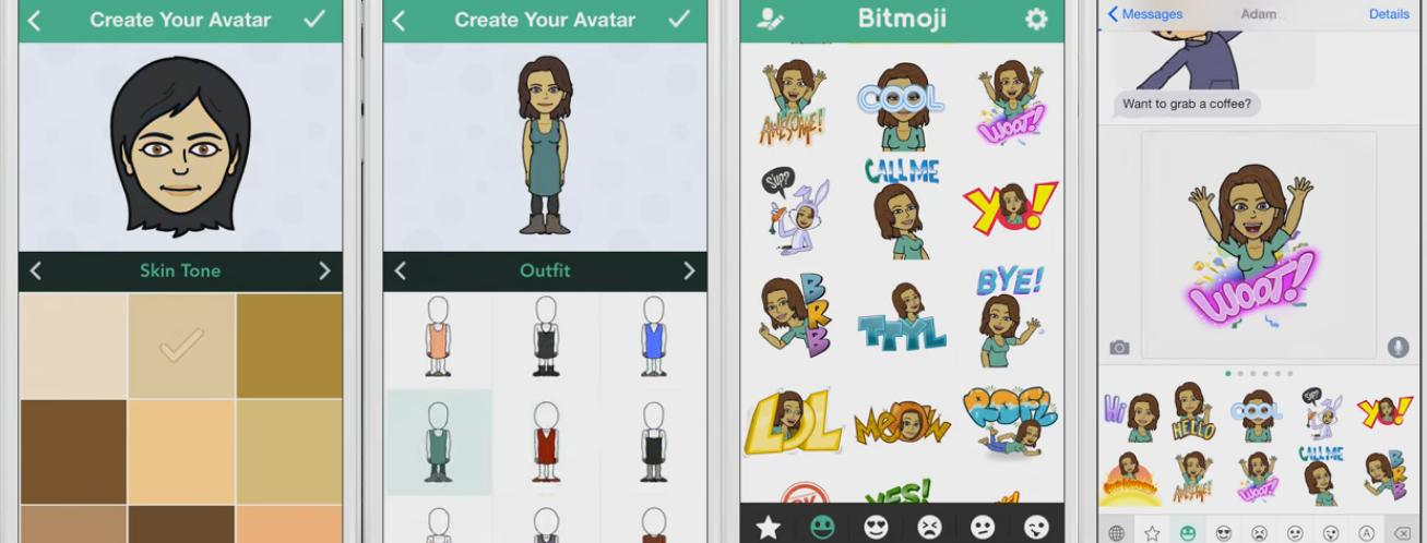 Snapchat Announces Bitmoji Integration - New Options for Your Snaps | Social Media Today