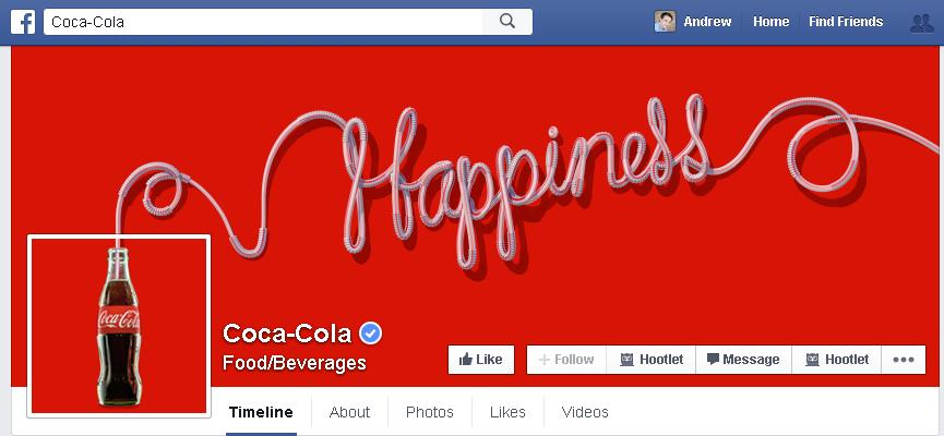 Facebook Testing New Layout for Brand Pages | Social Media Today