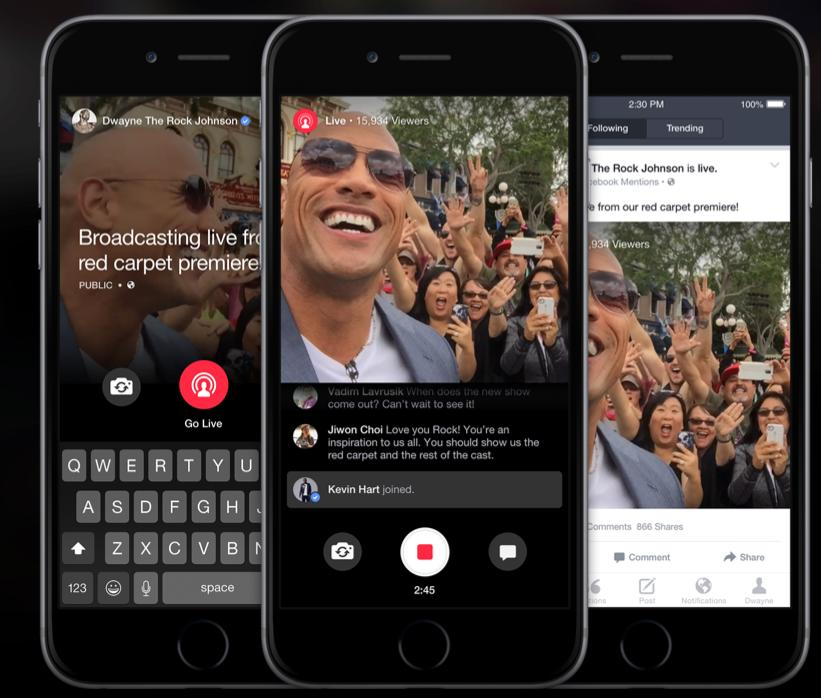 Facebook Live Commercial Breaks? Examining the Next Stage for Live-Streaming | Social Media Today