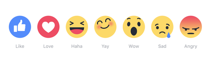 How Are People Reacting to Facebook's New 'Reactions' Emoji Responses? | Social Media Today