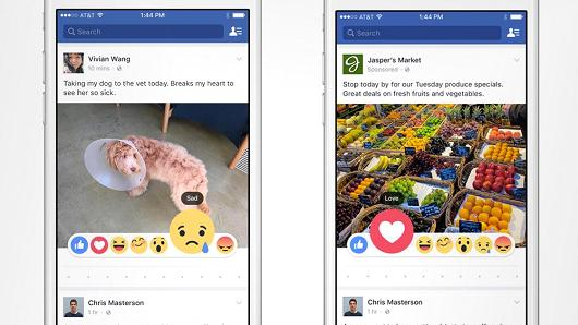Will Facebook's New 'Reactions' be Good for Marketers? | Social Media Today