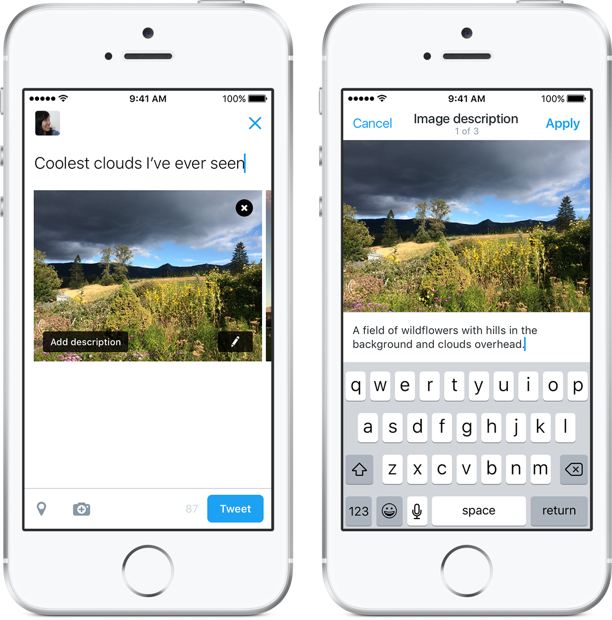 Twitter Adds Alt-Text Image Descriptions to Extend Tweet Accessibility | Social Media Today