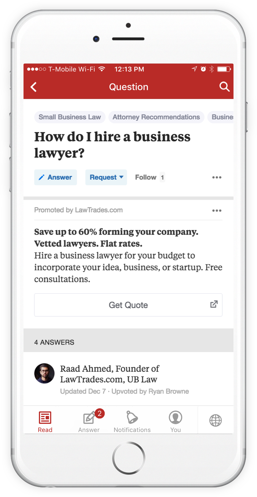 Quora's Native Advertising Solution is Out of Beta and Available to Everyone | Social Media Today