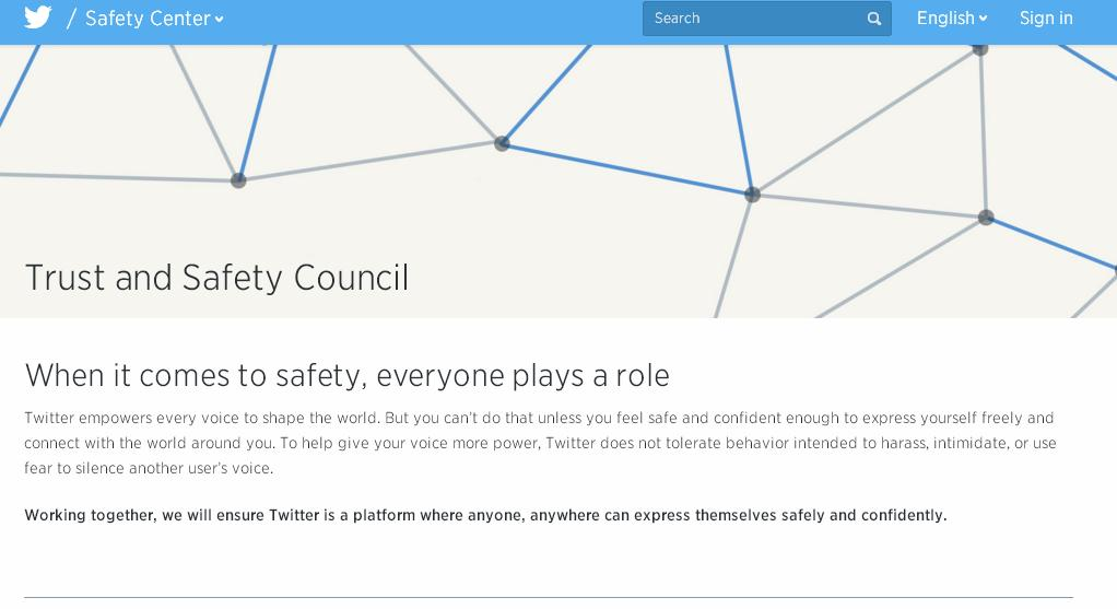 Twitter Announces New Trust & Safety Council to Help Tackle On-Platform Abuse | Social Media Today