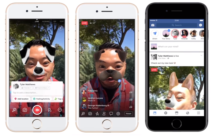Facebook Adds New Features to Facebook Camera, Stories | Social Media Today