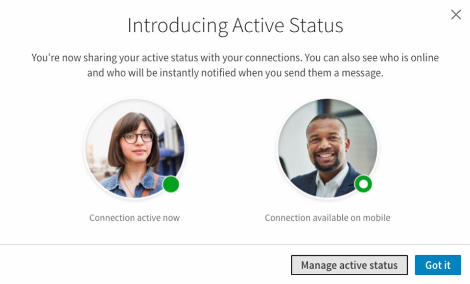 LinkedIn Adds 'Active Status' to Alert Your Connections When You're Online | Social Media Today
