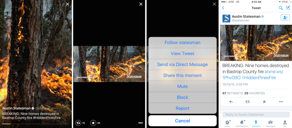 Twitter Adds Links Within Moments Content to Ease Publisher Concerns | Social Media Today