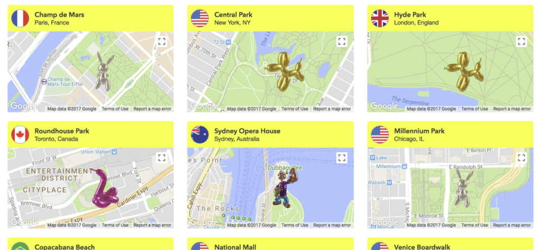 Snapchat's Launching a New AR Art Installation Project | Social Media Today