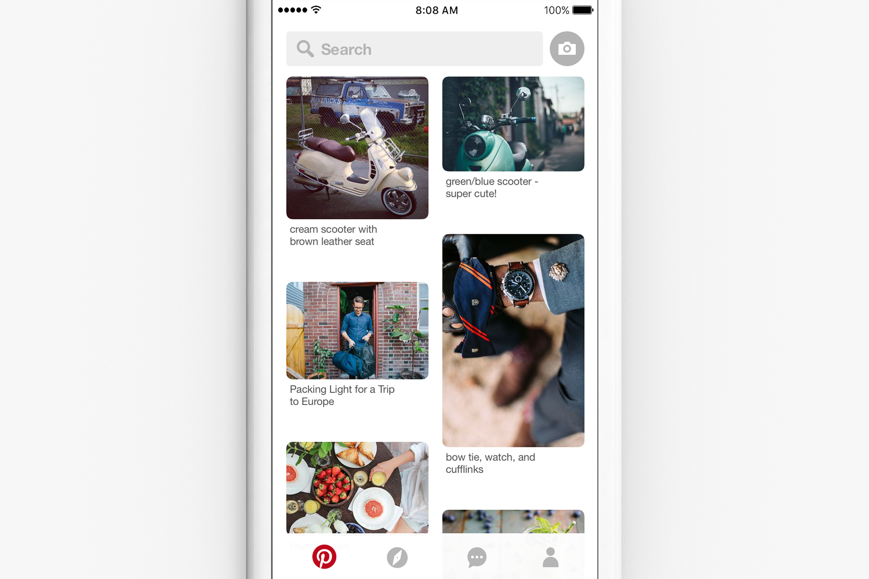 Pinterest Adds Search and Lens to Front Page, Proves New Stats on Search Volume | Social Media Today