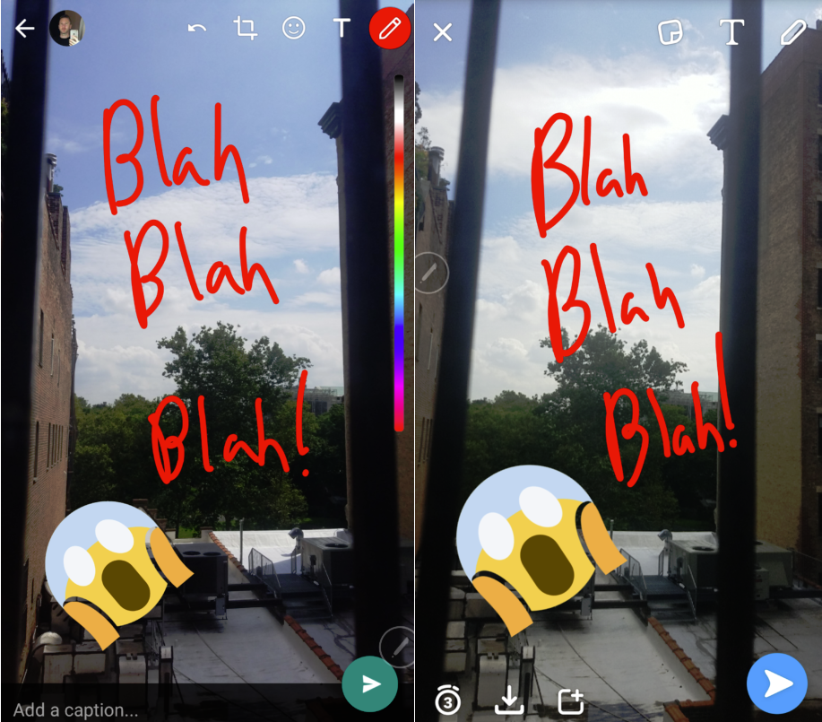 Facebook Releases Another Snapchat Clone, This Time Within WhatsApp | Social Media Today