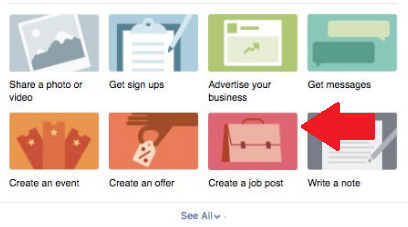 Facebook's Rolling Out a New Job Posting Option for Pages | Social Media Today
