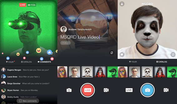 Facebook Announces New Additions for Live, Including MSQRD Masks | Social Media Today