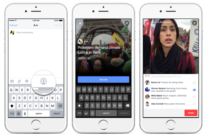 Facebook Expands Live-Streaming to Verified Pages | Social Media Today