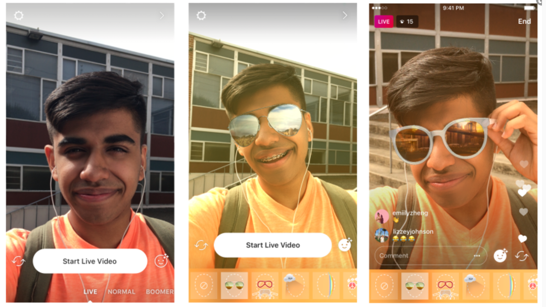 Instagram's Adding Video Masks to Instagram Live, Expanding Creative Options | Social Media Today