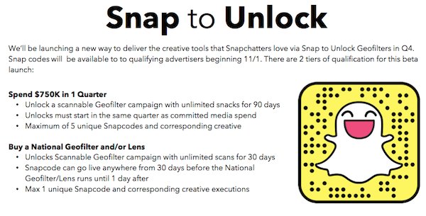 Snapchat QR Codes Can Now Deep Link To Websites | Social Media Today
