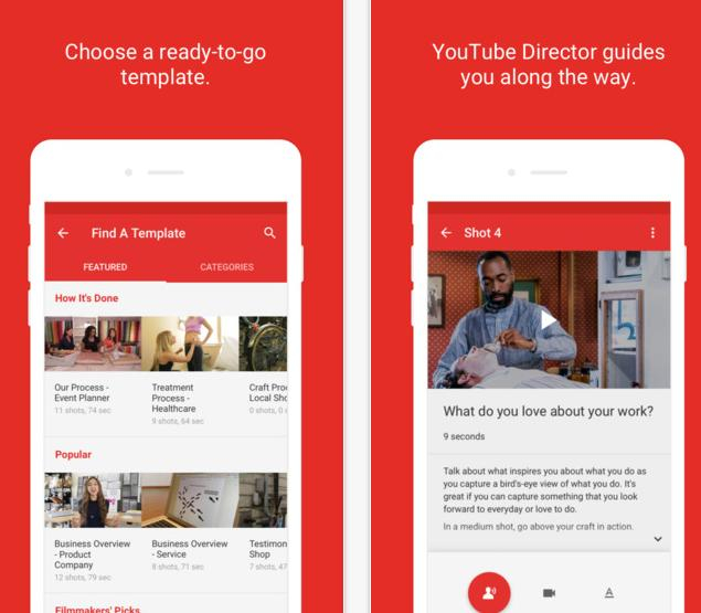 YouTube Releases New 'YouTube Director' App to Help Businesses Create Video Content | Social Media Today