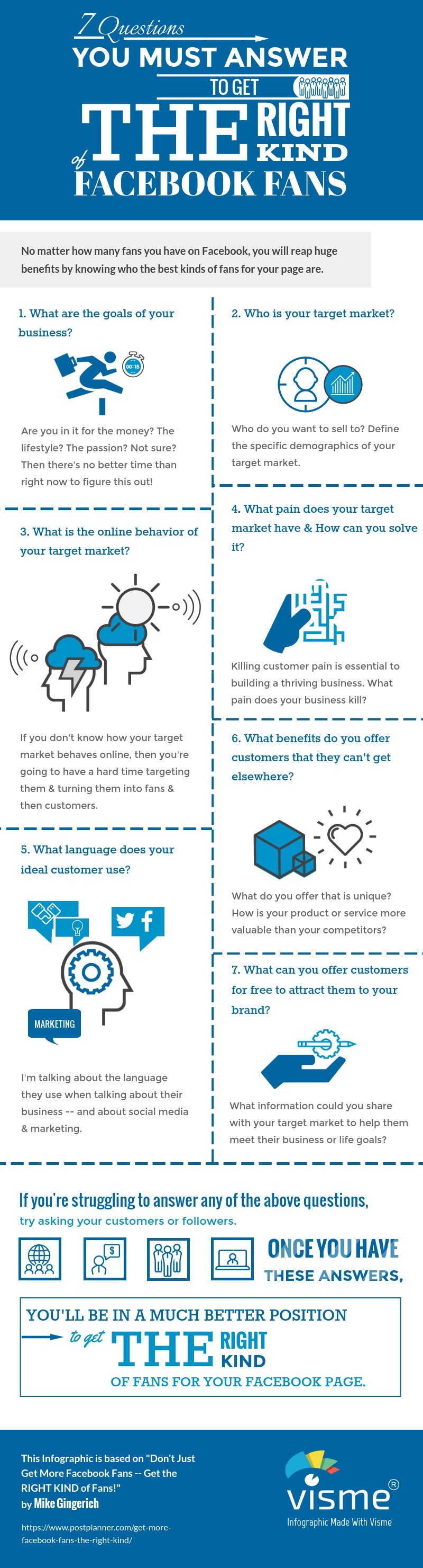 7 Questions that will Get You the Right Facebook Fans [Infographic] | Social Media Today