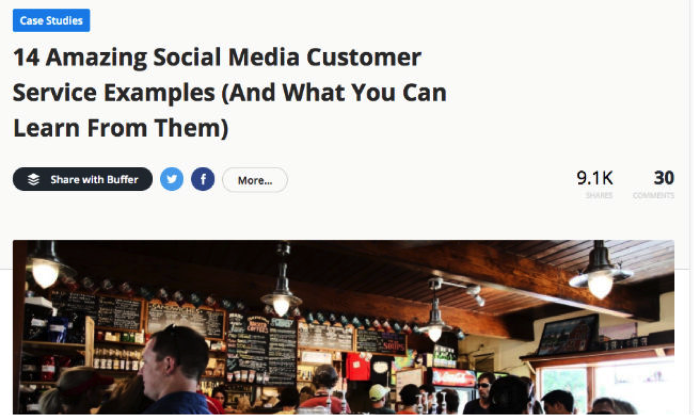 The 6 Highest Performing B2B Blog Post Formats [Infographic]   Social Media Today