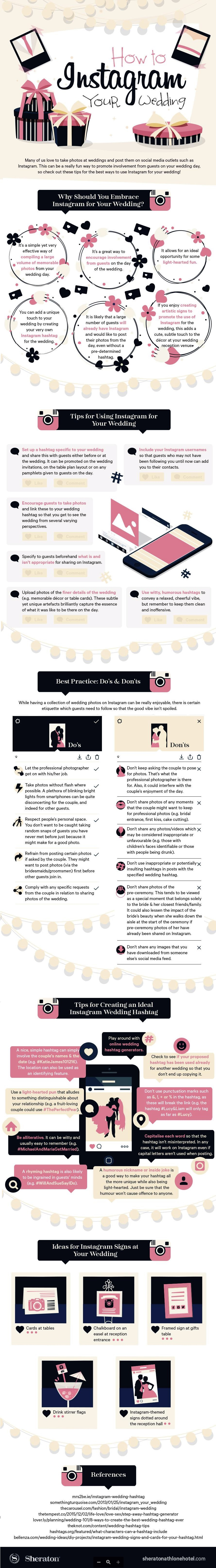 How to Instagram Your Wedding [Infographic] | Social Media Today