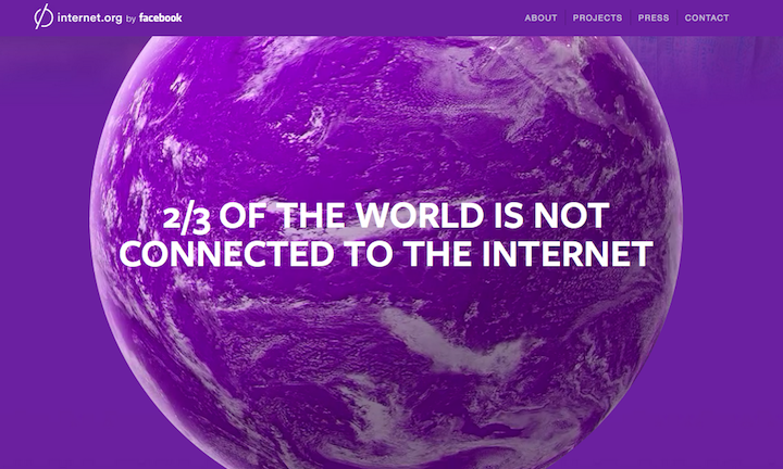 The internet.org Debate and the Important Role it Plays in Facebook's Future   Social Media Today