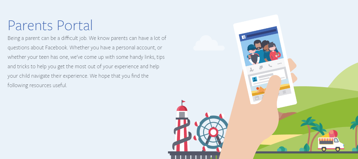 Facebook Releases New 'Parents Portal' to Help Parents Educate Kids on Social Media Use | Social Media Today