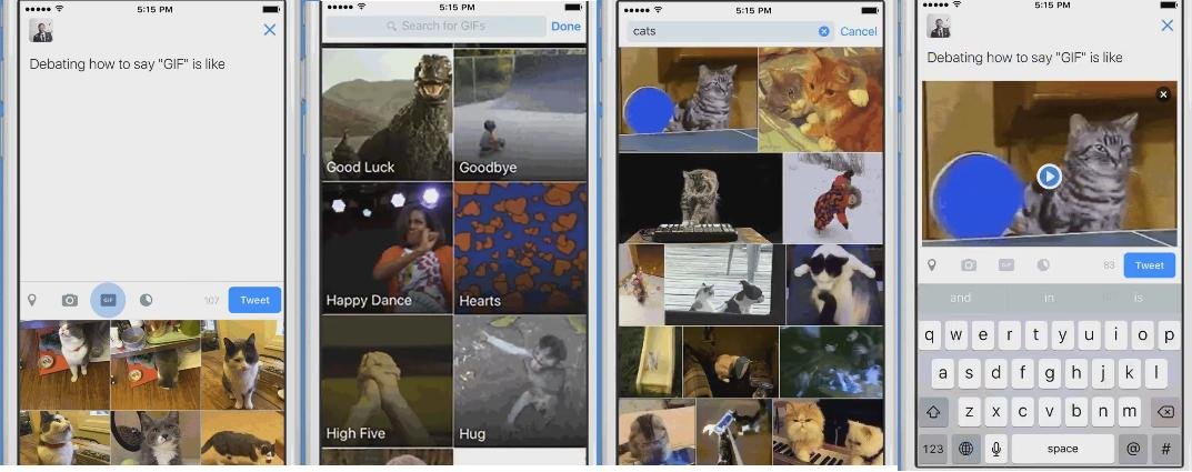 Twitter Unveils New In-Stream GIF Search Option | Social Media Today