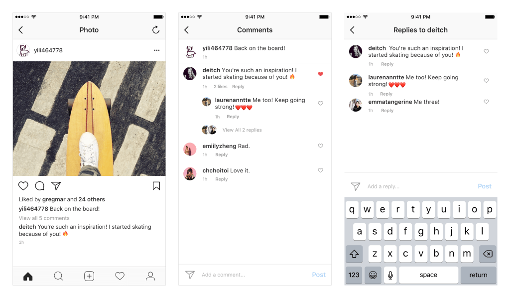 Instagram Updates Comments Layout to Rationalize Replies | Social Media Today