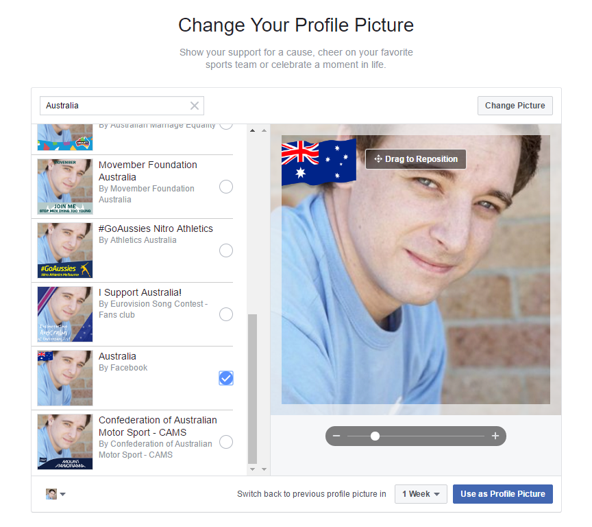 Facebook Updates Profile Frames Page, Adds 200 National Flags | Social Media Today