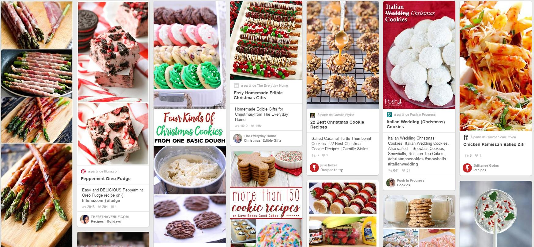 pinterest holiday recipes