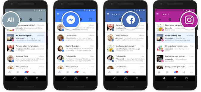 Facebook Adds New Option to Manage Facebook, Messenger and Instagram Interactions in One Place | Social Media Today