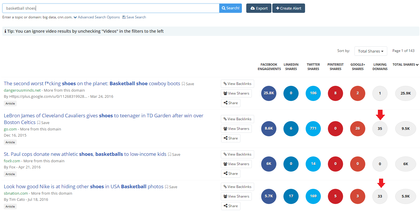 BuzzSumo Adds Backlink Data to Content Listings | Social Media Today
