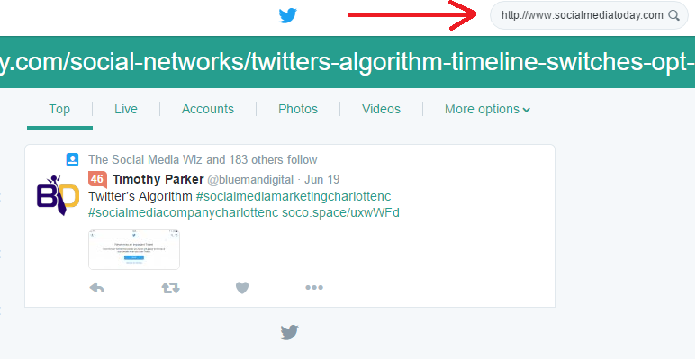 How to Use Twitter's Advanced Search Parameters to Uncover Relevant Mentions | Social Media Today