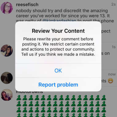 User-Defined Comment Moderation Features Coming to Instagram Soon | Social Media Today