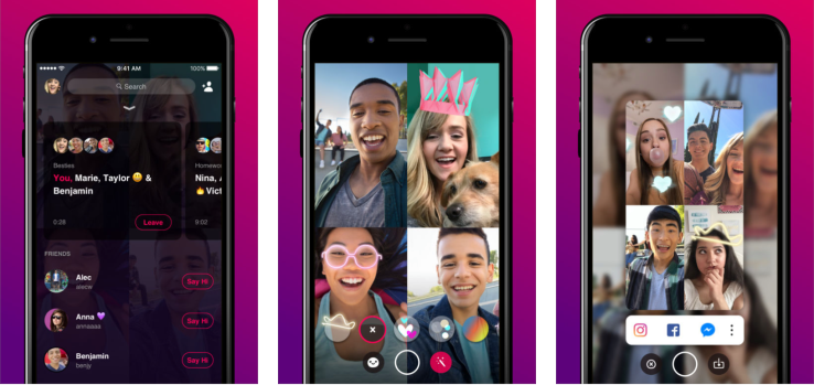 Facebook's Testing its New Group Video Chat App, a Challenger for Houseparty | Social Media Today