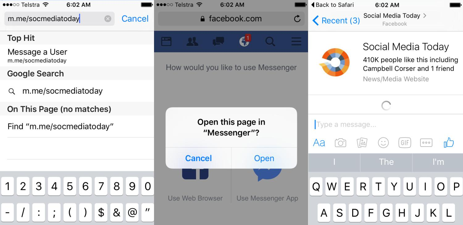 Facebook Messenger now at 900 Million Users, Announces Improved Connection Features | Social Media Today