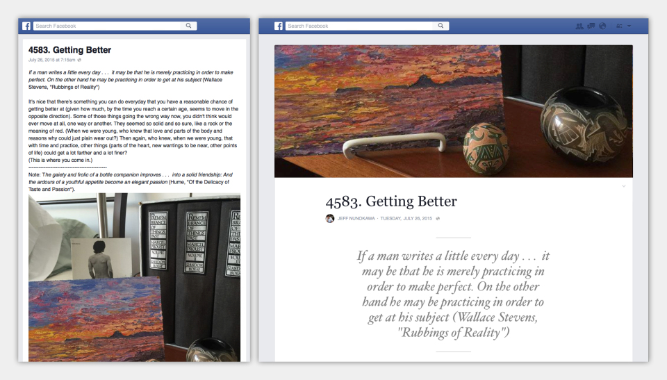 Facebook Takes Next Step Towards Becoming Publishing Powerhouse - Updates 'Notes' | Social Media Today